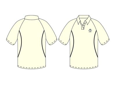 Cricket Cream Shirts