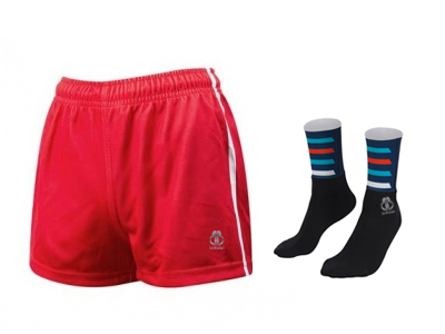 Personalized AFL Shorts and Socks