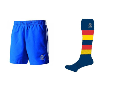 Promotional AFL Shorts and Socks