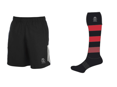 Custom AFL Shorts & Socks