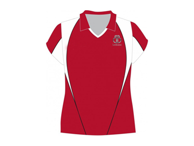 Sublimated Netball Playing Shirts