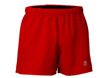 Red Rugby Shorts