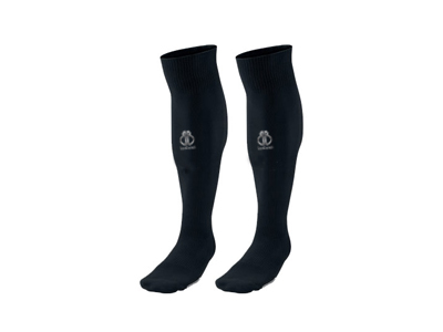 Black Soccer Socks